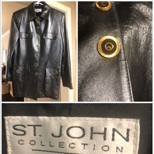 St John Collection by Marie Gray Vintage Leather